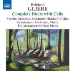 Hulshoff (БарриХюльсхофф): Gliere: Duets With Cello