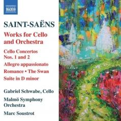 Gabriel Schwabe: Cello Concerto No. 1 • Cello Concerto No. 2 In D Minor • Allegro Appassionato In B Minor • Romance In F For Solo Cello Or Horn Op. 36 • Suite In D Minor Op. 16 • The Swan For Cello And Orchestra
