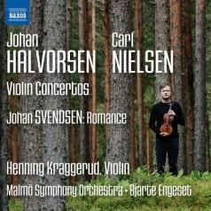 Henning Kraggerud (Хеннинг Краггеруд): Violin Concertos • Romance In G Major (Svendsen)