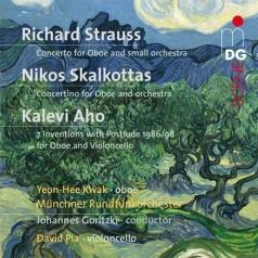 Richard Strauss: Concertos & Solos For Oboe Vol. 2: Works By R. Strauss, N. Skalkottas, K. Aho