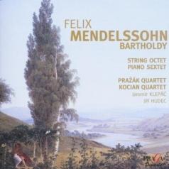 Prazak Quartet (Празак Квартет): Mendelssohn, F./String Octet, Op 20/Piano Sextet, Op 110/Prazak Quartet/Kocian Quartet/J. Klepac, Piano/ J. Hudec, Double-Bass