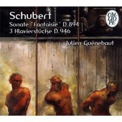 Schubert F./Sonata D.894. Klavierstucke D946/Julien Guenebaut