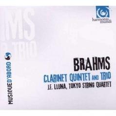 Brahms / Quintettes Avec Clarinette / J.E. Lluna; Tokyo String Quartet