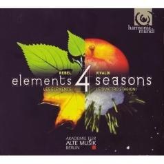 Midori Seiler (Мидори Зайлер): Vivaldi & Rebel/4 Seasons.4 Elements/Midori Seiler, Violin/Akademie Fur Alte Musik Berlin