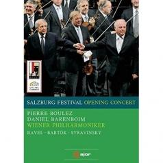 DanielBarenboim: Salzburg Opening Concert 2008, Boulez