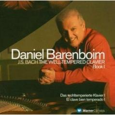 Daniel Barenboim (Даниэль Баренбойм): Well-Tempered Clavier Book 1 [48 Preludes & Fugues  Book 1]