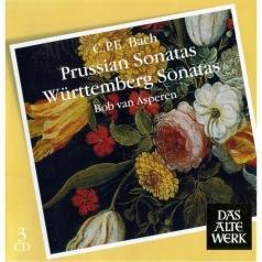 Bob Van Asperen (Боб ван Асперен): Prussian & Wurttemberg Sonatas