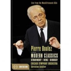 Pierre Boulez Conducts Modern Classics (Chicago So)