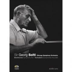 Chicago Symphony Orchestra (Чикагский симфонический оркестр): Solti Conducts Beethoven: Symphony No.1 / Schubert: Symphonies Nos.6 & 8 (Cso)