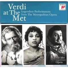 Verdi At The Met: Legendary Performances