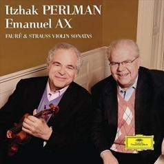 Itzhak Perlman (Ицхак Перлман): Strauss/ Fayre: Violin Sonatas