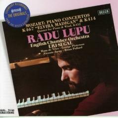 Radu Lupu (Раду Лупу): Mozart: Piano Concertos Nos.12 & 21 etc