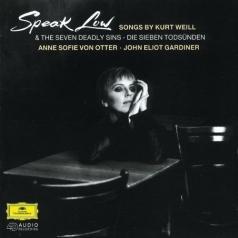 Anne Sofie Von Otter (Анне Софи фон Оттер): Weill: Speak Low