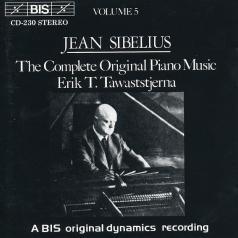 Erik Tawaststierna (Эрик Тавастшерна): Complete Original Piano Music, Vol.5