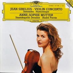 Anne Sophie Mutter (Анне-Софи Муттер): Sibelius: Violin Conc.D-Moll, Serenaden