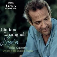 Giuliano Carmignola (ДжулианоКарминьола): Haydn: Concertos
