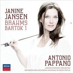 Janine Jansen (Янин Янсен): Brahms Bartok