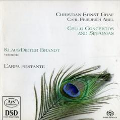 Christian Ernst Graf (Кристиан Ернст Графф): Cello Concertos & Sinfonias (+Carl Friedrich Abel: Cello Concerto C Major)