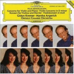 Gidon Kremer (Гидон Кремер): Mendelssohn: Concert For Violin & Piano