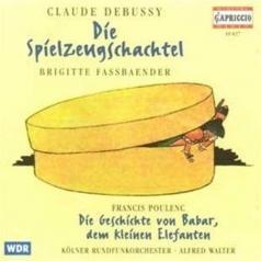 Brigitter Fassbaende (Бригиттер Фассбаенде): Debussy: Die Spielzeugschachtel