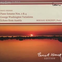 Михаил Коржев: Krenek: Piano Sonatas