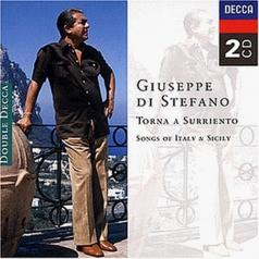 Giuseppe Di Stefano (Джузеппе Ди Стефано): Torna a Surriento - Songs of Italy and Sicily