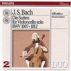 Maurice Gendron (Морис Гендрон): Bach, J.S.: The 6 Cello Suites