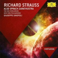 Giuseppe Sinopoli (Джузеппе Синополи): Strauss: Also Sprach Zarathustra; Tod Und Verklarung