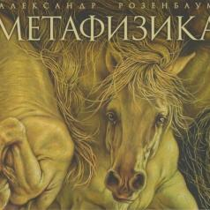 Александр Розенбаум: Метафизика