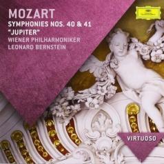 Leonard Bernstein (Леонард Бернстайн): Mozart: Symphonies 40 & 41