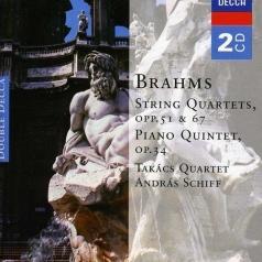 Takacs Quartet (Квартет Такача): Brahms: String Quartets & Piano Quintet