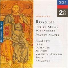 Rossini: Petite messe solennelle; Stabat Mater