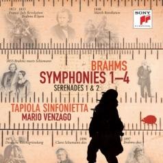 Johanes Brahms (Йоханнес Брамс): Symphonies Nos. 1-4, Serenades Nos. 1&2