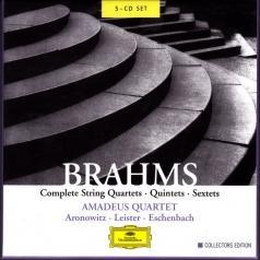 Amadeus Quartet (Амадеус-Квартет): Brahms: Complete String Quartets, Quintets & Sexte