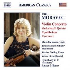 Maria Bachmann (Мари Бахман): Violin Concerto, Shakuhachi Quintet, Equilibrium, Evermore