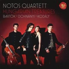 Notos Quartett: Hungarian Treasures - Bartok: Piano Quartet In C Minor, Op. 20 (World Premiere Recording). Dohnanyi: Piano Quartet In F Sharp Minor. Kodaly: Intermezzo For String Trio