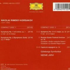 Neeme Järvi (Неэме Ярви): Rimsky-Korsakov: The Complete Symph: onies; Russia