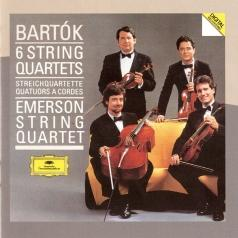 Emerson String Quartet (Эмирсон Стринг Квартет): Bartok: The 6 String Quartets