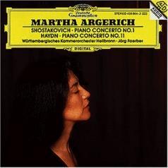 Martha Argerich (Марта Аргерих): Shostakovich: Piano Concerto No.1/ Haydn: Piano Concerto No.11