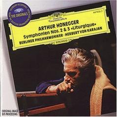 Herbert von Karajan (Герберт фон Караян): Honegger: Symphonies Nos.2 & 3 / Stravinsky: Conce