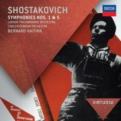 Bernard Haitink (Бернард Хайтинк): Shostakovich: Symphonies Nos.1 & 5