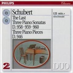 Alfred Brendel (Альфред Брендель): Schubert: The Last Three Piano Sonatas