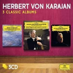 Herbert von Karajan (Герберт фон Караян): 3 Classic Albums: Mozart, Bizet, Respighi
