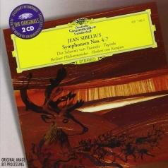 Herbert von Karajan (Герберт фон Караян): Sibelius: Symphonies Nos.4-7; The Swan of Tuonela;