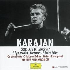Herbert von Karajan (Герберт фон Караян): Tchaikovsky: 6 Symphonien; Concertos