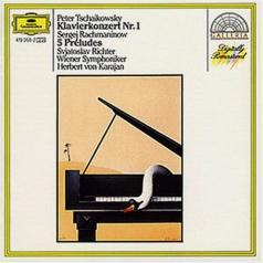 Herbert von Karajan (Герберт фон Караян): Tchaikovsky: Piano Concerto No.1 / Rachmaninov: Pr