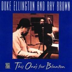Duke Ellington (Дюк Эллингтон): This One's For Blanton