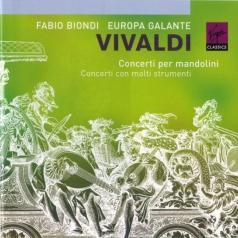 Fabio Biondi (Фабио Бьонди): Concerti Per Mandolini