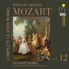 Siegbert Rampe: Complete Clavier Works Vol. 12