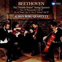 Alban Berg Quartett (Квартет Альбана Берга): The 'Middle Period' Quartets